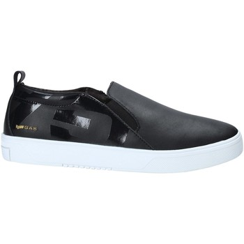 Cipők Férfi Belebújós cipők Gas GAM914016 Fekete