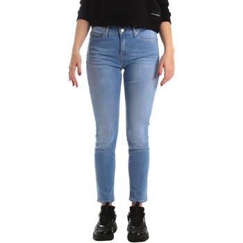 Ruhák Női Skinny farmerek Calvin Klein Jeans J20J211006 Kék