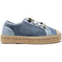 Cipők Női Rövid szárú edzőcipők Gold&gold A19 GT813 Kék