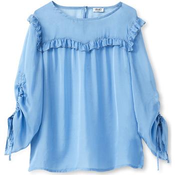 Ruhák Női Blúzok Liu Jo W19292T5339 Kék