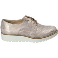 Cipők Női Oxford cipők Enval 3255144 Arany