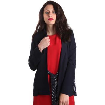 Ruhák Női Kabátok / Blézerek Fracomina FR19SP006 Kék