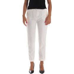 Ruhák Női Chino nadrágok / Carrot nadrágok Fracomina FR19SP684 Fehér