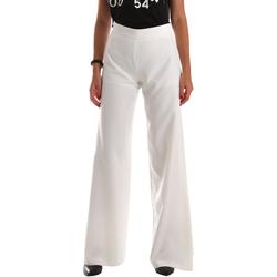 Ruhák Női Lenge nadrágok Fracomina FR19SP637 Fehér