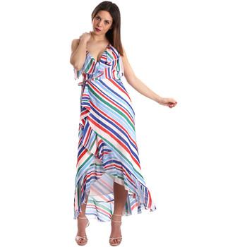 Ruhák Női Hosszú ruhák Fracomina FR19SP594 Fehér