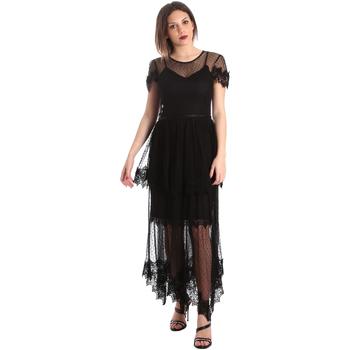 Ruhák Női Hosszú ruhák Fracomina FR19SP364 Fekete