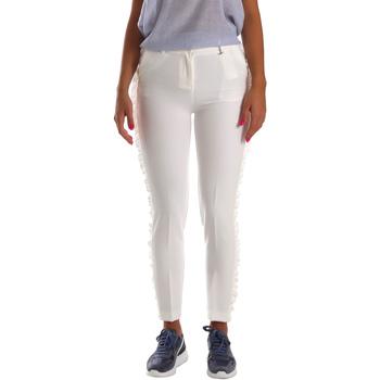 Ruhák Női Chino nadrágok / Carrot nadrágok Fracomina FR19SP666 Fehér