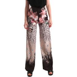 Ruhák Női Lenge nadrágok Fracomina FR19SM014 Fekete