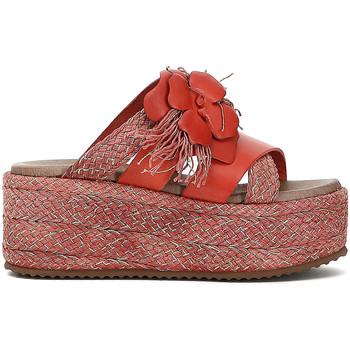 Cipők Női Papucsok Café Noir HG133 Piros