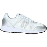 Cipők Női Rövid szárú edzőcipők Sweet Years S19-SSW636 Fehér
