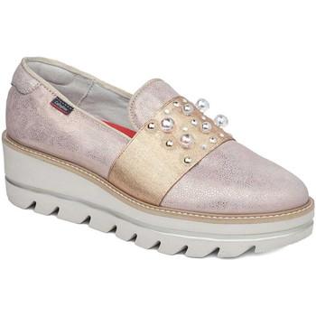 Cipők Női Mokkaszínek CallagHan 14821 Rózsaszín