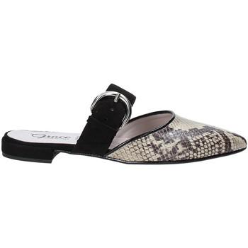 Cipők Női Gyékény talpú cipők Grace Shoes 521008 Fekete