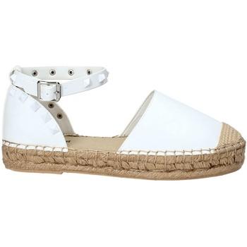 Cipők Női Gyékény talpú cipők Gold&gold A19 GT768-1 Fehér