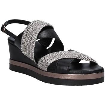 Cipők Női Szandálok / Saruk Inuovo 121007 Fekete
