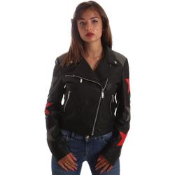 Ruhák Női Bőrkabátok / műbőr kabátok Byblos Blu 2WS0002 LE0007 Fekete