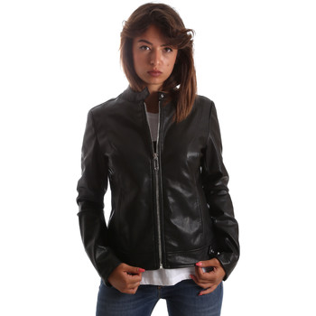 Ruhák Női Bőrkabátok / műbőr kabátok Byblos Blu 2WS0009 TE0060 Fekete