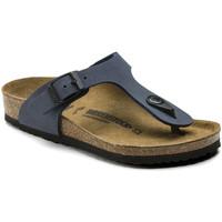 Cipők Gyerek Lábujjközös papucsok Birkenstock 345443 Kék