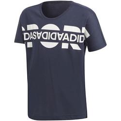 Ruhák Lány Rövid ujjú pólók adidas Originals DV0281 Kék