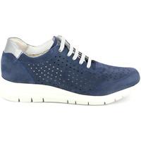 Cipők Női Rövid szárú edzőcipők Grunland SC4440 Kék