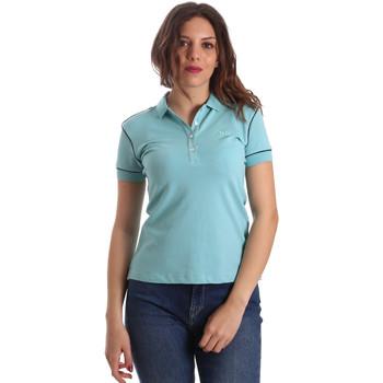 Ruhák Női Rövid ujjú galléros pólók La Martina NWP002 PK001 Kék