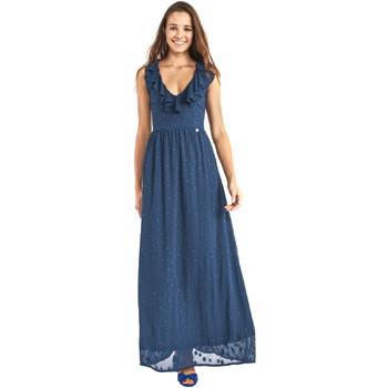 Ruhák Női Hosszú ruhák Gaudi 911BD15007 Kék