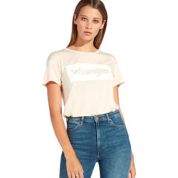 Ruhák Női Rövid ujjú pólók Wrangler W7016D Narancssárga