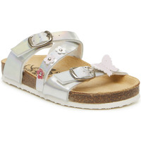 Cipők Lány Papucsok Primigi 3427100 Ezüst