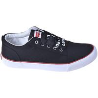 Cipők Gyerek Rövid szárú edzőcipők Levi's VCAS0006T Fekete