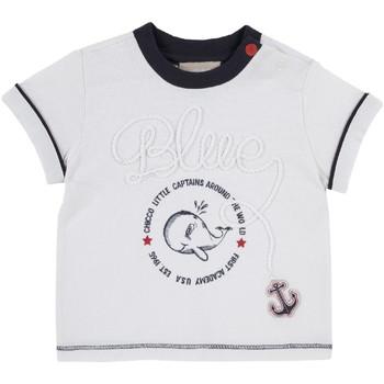Ruhák Gyerek Rövid ujjú pólók Chicco 09006679000000 Fehér