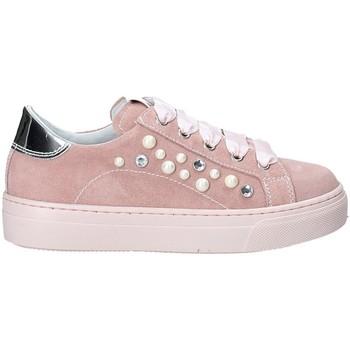 Cipők Lány Rövid szárú edzőcipők NeroGiardini P930920F Rózsaszín
