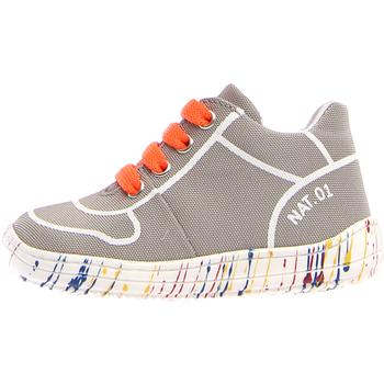 Cipők Gyerek Rövid szárú edzőcipők Naturino 2013463-03-0B03 Szürke