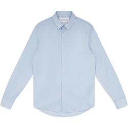 Ruhák Férfi Hosszú ujjú ingek Calvin Klein Jeans J30J313171 Kék