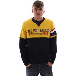 Ruhák Férfi Pulóverek U.S Polo Assn. 52522 49151 Sárga