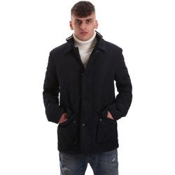 Ruhák Férfi Steppelt kabátok Navigare NV65008 Kék