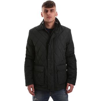 Ruhák Férfi Steppelt kabátok Navigare NV65008 Zöld