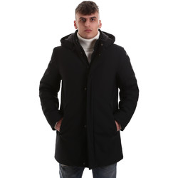 Ruhák Férfi Kabátok Navigare NV68081 Fekete