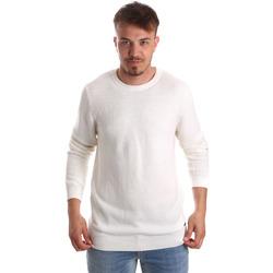 Ruhák Férfi Pulóverek Gaudi 921FU53020 Fehér