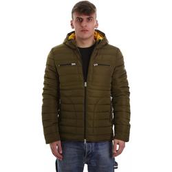 Ruhák Férfi Steppelt kabátok Gaudi 921BU35019 Zöld