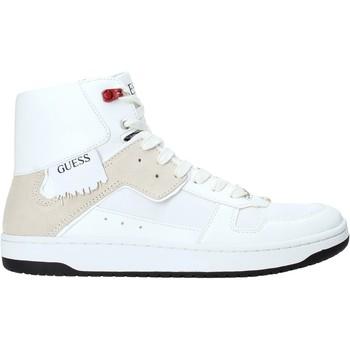 Cipők Férfi Magas szárú edzőcipők Guess FM8DNK ELE12 Fehér