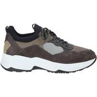 Cipők Férfi Rövid szárú edzőcipők Nero Giardini A901272U Fekete