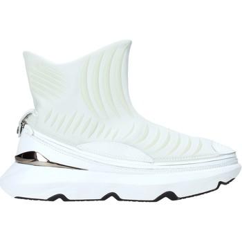Cipők Férfi Magas szárú edzőcipők Ea7 Emporio Armani X8Z019 XK121 Fehér