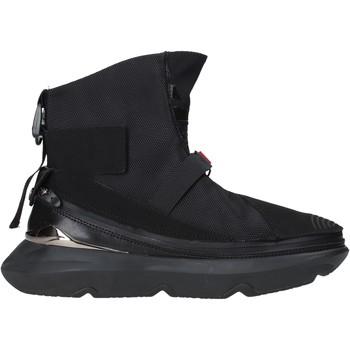Cipők Férfi Magas szárú edzőcipők Ea7 Emporio Armani X8Z020 XK123 Fekete