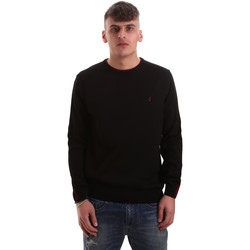 Ruhák Férfi Pulóverek Navigare NV10217 30 Fekete
