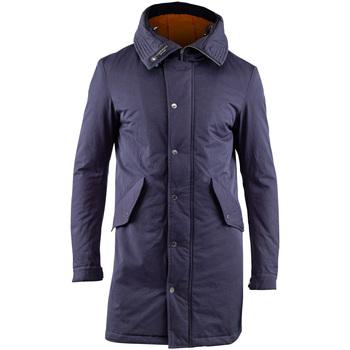 Ruhák Férfi Parka kabátok Lumberjack CM37821 003 505 Kék