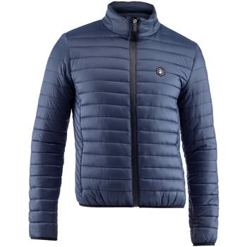 Ruhák Férfi Steppelt kabátok Lumberjack CM37822 005 407 Kék