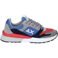 Cipők Férfi Rövid szárú edzőcipők Sun68 Z29116 Kék
