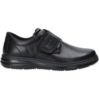 Cipők Férfi Mokkaszínek Enval 4224100 Fekete