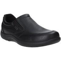 Cipők Férfi Mokkaszínek Enval 4233400 Fekete