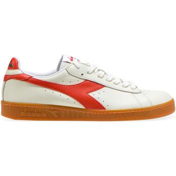 Cipők Férfi Rövid szárú edzőcipők Diadora 501.172.526 Fehér