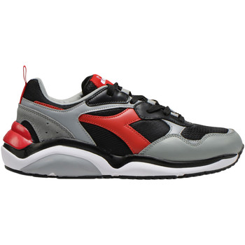 Cipők Férfi Rövid szárú edzőcipők Diadora 501.174.340 Fekete